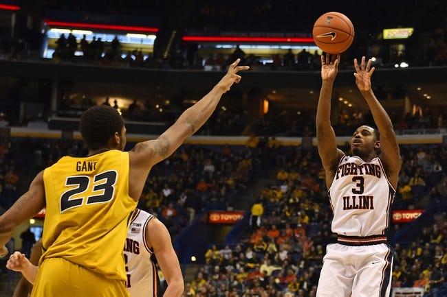 Illinois Fighting Illini vs. Missouri Tigers - 12/23/15 College Basketball Pick, Odds, and Prediction