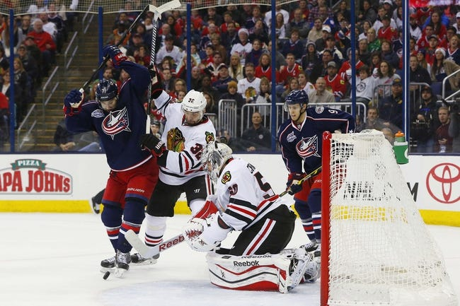 Chicago Blackhawks vs. Columbus Blue Jackets - 3/27/15 NHL Pick, Odds, and Prediction