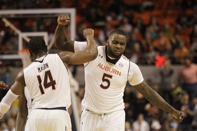 Auburn vs. Middle Tennessee - 12/29/14 College Basketball Pick, Odds, and Prediction
