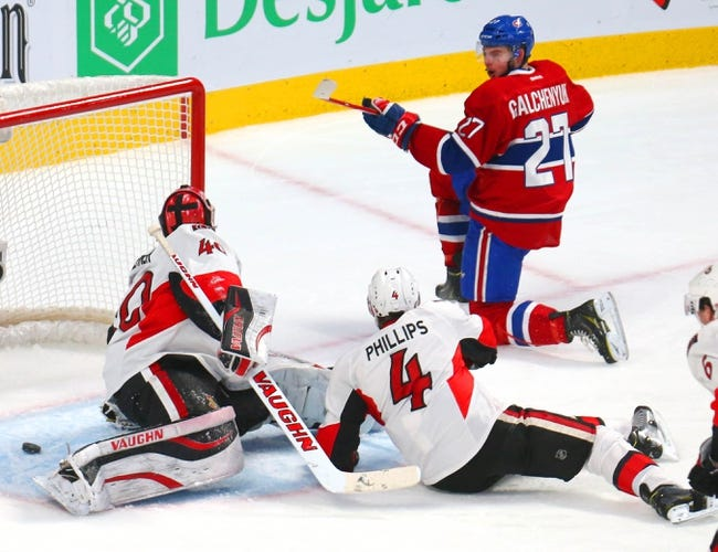 Senators vs. Canadiens - 1/15/15 NHL Pick, Odds, and Prediction