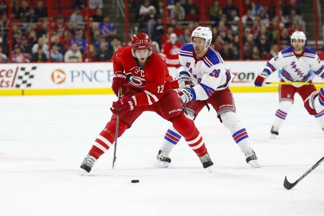 NHL | Carolina Hurricanes (9-19-4) at New York Rangers (16-10-4)