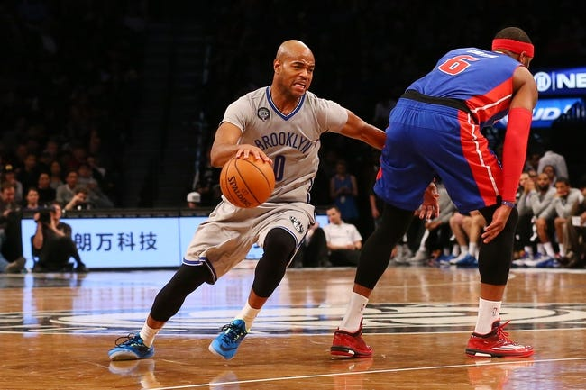 Pistons vs. Nets - 1/10/15 NBA Pick, Odds, and Prediction