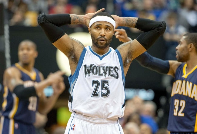 Pacers vs. Timberwolves - 1/13/15 NBA Pick, Odds, and Prediction