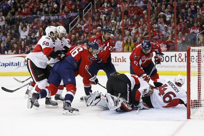 NHL | Washington Capitals (26-15-10) at Ottawa Senators (20-20-9)