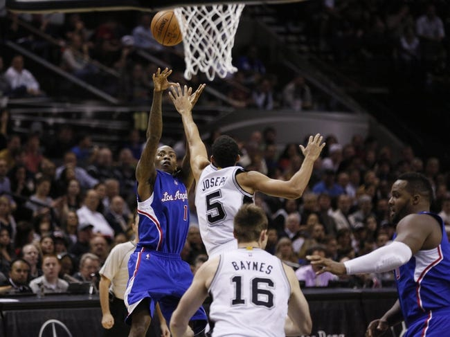 Spurs vs. Clippers - 1/31/15 NBA Pick, Odds, and Prediction