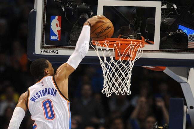 Oklahoma City Thunder vs. Charlotte Hornets - 12/26/14 NBA Pick, Odds, and Prediction