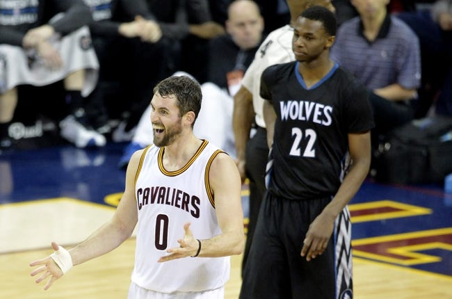 Minnesota Timberwolves vs. Cleveland Cavaliers - 1/31/15 NBA Pick, Odds, and Prediction