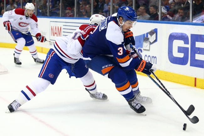 Canadiens vs. Islanders - 1/17/15 NHL Pick, Odds, and Prediction