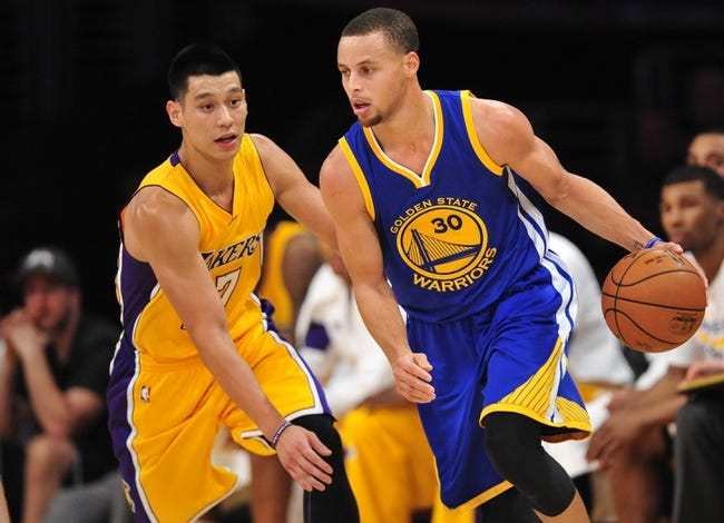 Golden State Warriors vs. Los Angeles Lakers - 3/16/15 NBA Pick, Odds, and Prediction