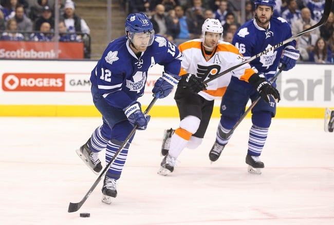 Flyers vs. Maple Leafs - 1/31/15 NHL Pick, Odds, and Prediction