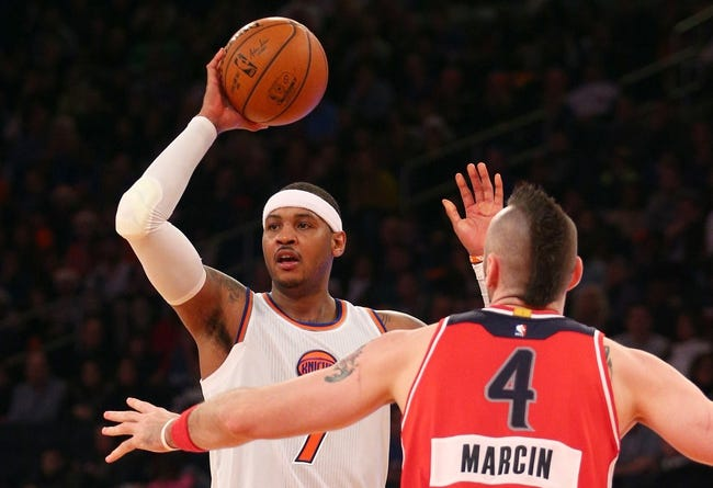 Wizards vs. Knicks - 1/7/15 NBA Pick, Odds, and Prediction