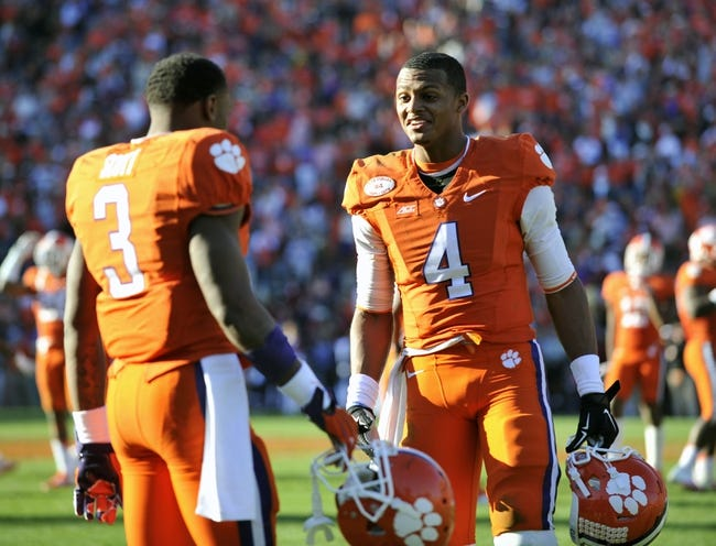 Clemson vs. Oklahoma Russell Athletic Bowl - 12/29/14 College Football Pick, Odds, and Prediction