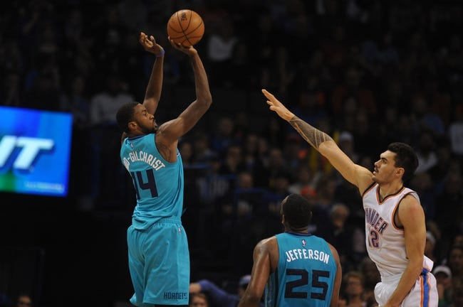 Hornets vs. Thunder - 2/21/15 NBA Pick, Odds, and Prediction