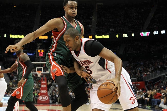 Milwaukee Bucks vs. Atlanta Hawks - 12/27/14 NBA Pick, Odds, and Prediction