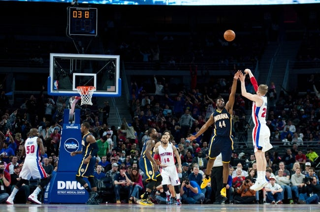 Pacers vs. Pistons - 1/16/15 NBA Pick, Odds, and Prediction