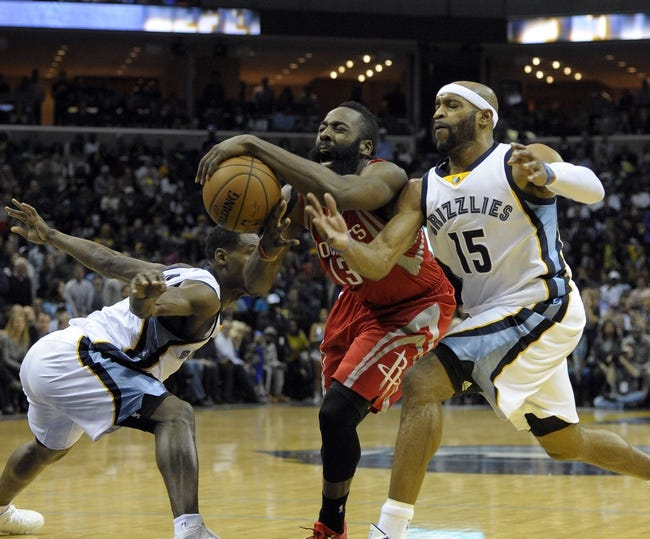 Rockets vs. Grizzlies - 3/4/15 NBA Pick, Odds, and Prediction