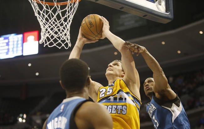 Timberwolves vs. Nuggets - 1/5/15 NBA Pick, Odds, and Prediction