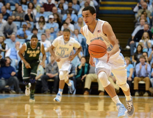 North Carolina vs. William & Mary - 12/30/14 College Basketball Pick, Odds, and Prediction