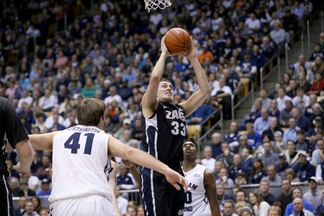 Gonzaga vs. San Francisco - 1/8/15 College Basketball Pick, Odds, and Prediction