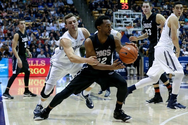 Gonzaga vs. BYU - 2/28/15 College Basketball Pick, Odds, and Prediction