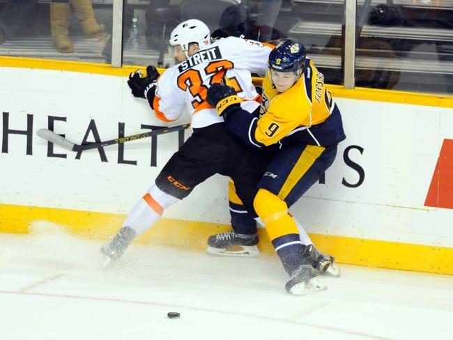 Predators vs. Flyers - 2/4/16 NHL Pick, Odds, and Prediction