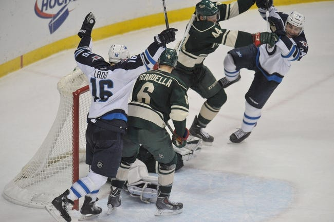Jets vs. Wild - 12/29/14 NHL Pick, Odds, and Prediction