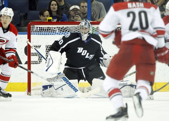 NHL | Tampa Bay Lightning (30-14-4) at Carolina Hurricanes (16-25-5)