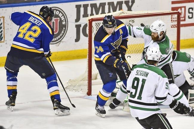 NHL | Dallas Stars (26-22-8) at St. Louis Blues (37-15-4)