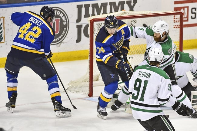 St. Louis Blues vs. Dallas Stars - 2/17/15 NHL Pick, Odds, and Prediction