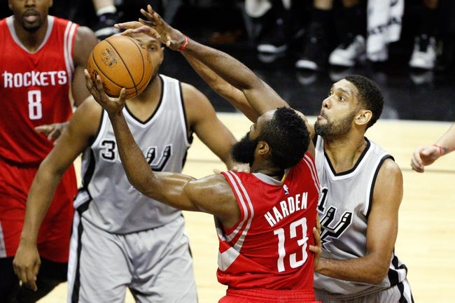 Spurs vs. Rockets - 4/8/15 NBA Pick, Odds, and Prediction