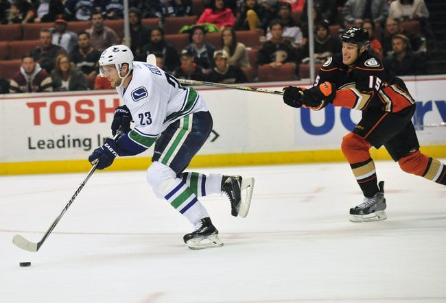 NHL | Anaheim Ducks (31-10-6) at Vancouver Canucks (26-16-3)