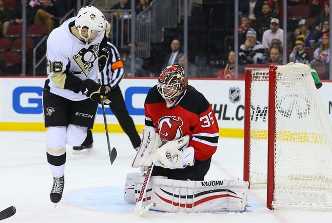 New Jersey Devils vs. Pittsburgh Penguins 1/30/15 -  NHL Pick, Odds, and Prediction