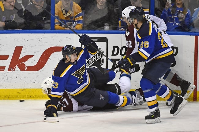 St. Louis Blues vs. Colorado Avalanche - 1/19/15 NHL Pick, Odds, and Prediction
