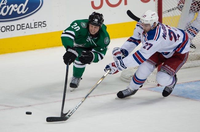 New York Rangers vs. Dallas Stars - 2/8/15 NHL Pick, Odds, and Prediction