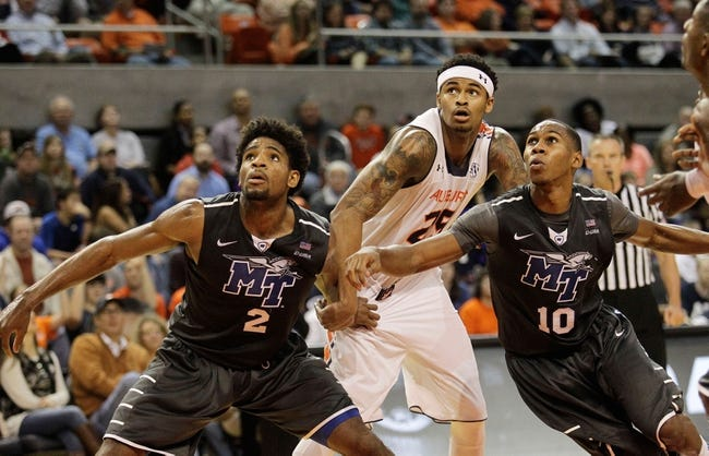 Middle Tennessee Blue Raiders vs. Tennessee State Tigers - 11/19/16 College Basketball Pick, Odds, and Prediction