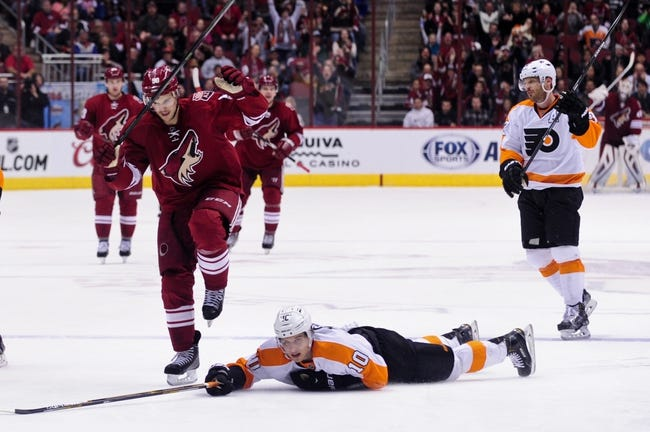 Flyers vs. Coyotes - 1/27/15 NHL Pick, Odds, and Prediction