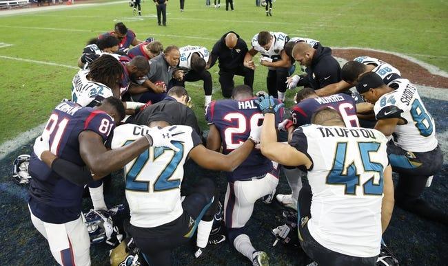 Jacksonville Jaguars Vs. Houston Texans   10/18/15 NFL Pick, Odds