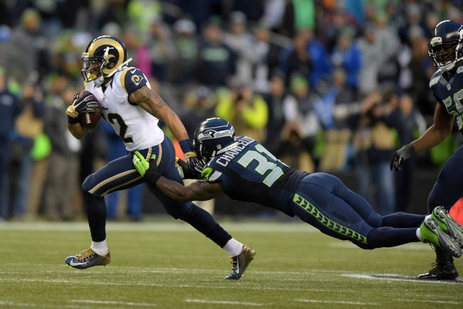 Seattle Seahawks at St. Louis Rams - 9/13/15 NFL Pick, Odds, and Prediction
