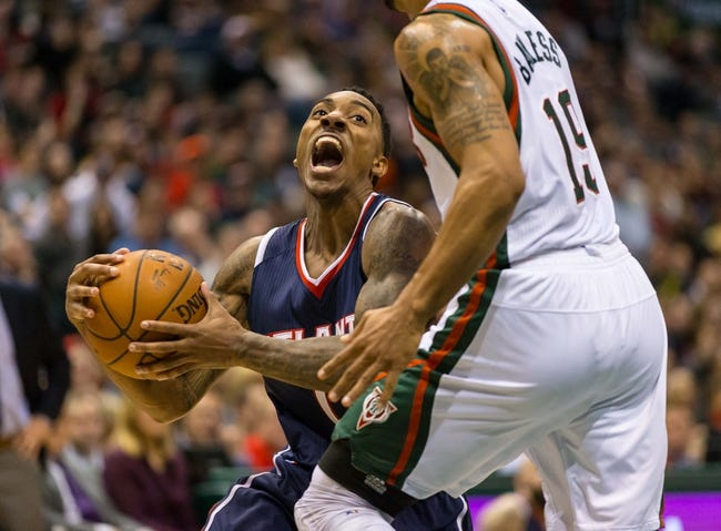 Milwaukee Bucks vs. Atlanta Hawks - 2/22/15 NBA Pick, Odds, and Prediction
