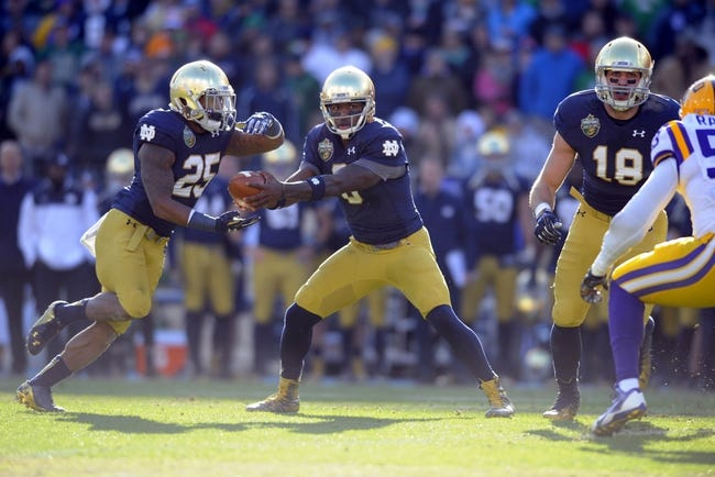 Texas at Notre Dame - 9/5/15 College Football Pick, Odds, and Prediction