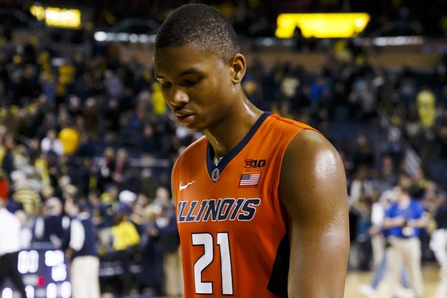 Illinois vs. Penn State - 1/31/15 College Basketball Pick, Odds, and Prediction