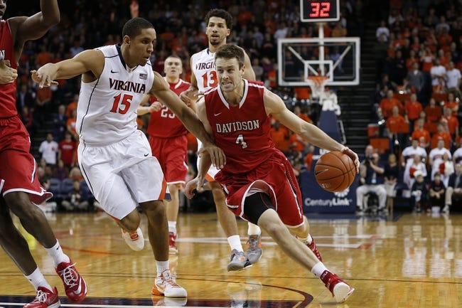 Davidson Wildcats vs. Richmond Spiders - 1/3/15 College Basketball Pick, Odds, and Prediction