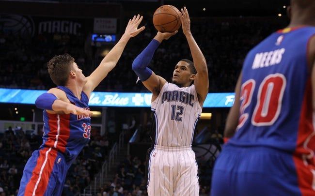 Pistons vs. Magic - 1/21/15 NBA Pick, Odds, and Prediction