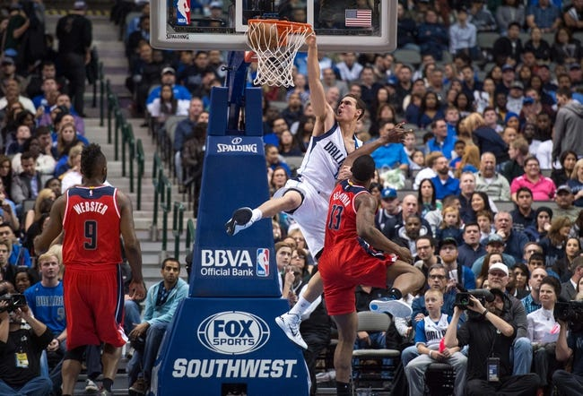 Washington Wizards vs. Dallas Mavericks - 12/6/15 NBA Pick, Odds, and Prediction