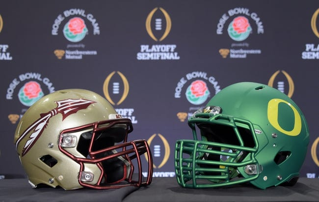 Florida State vs. Oregon Rose Bowl - 1/1/15 College Football Pick, Odds, and Prediction