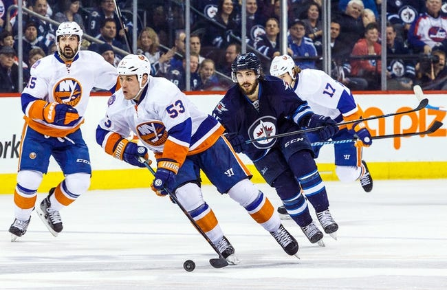 New York Islanders vs. Winnipeg Jets - 10/12/15 NHL Pick, Odds, and Prediction
