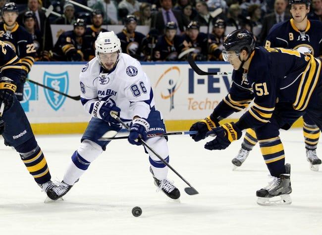 Tampa Bay Lightning vs. Buffalo Sabres - 1/9/15 NHL Pick, Odds, and Prediction
