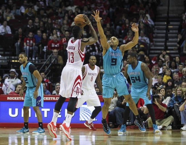 Charlotte Hornets vs. Houston Rockets - 4/13/15 NBA Pick, Odds, and Prediction