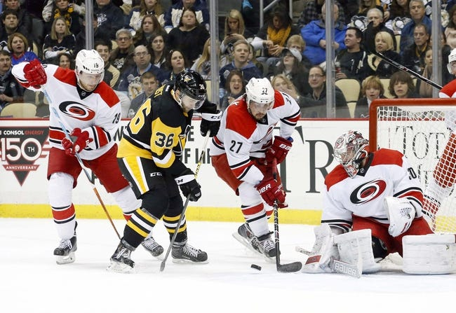 Hurricanes vs. Penguins - 3/26/15 NHL Pick, Odds, and Prediction
