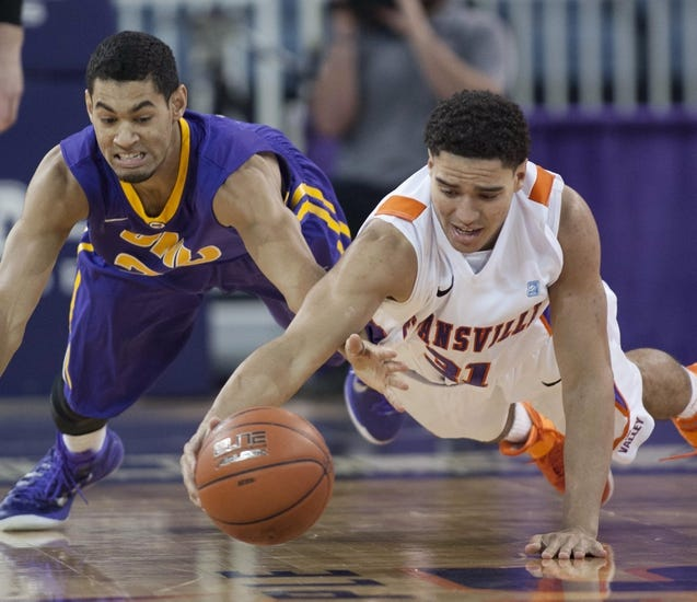 Evansville Purple Aces vs. Loyola of Chicago Ramblers - 1/7/15 College Basketball Pick, Odds, and Prediction